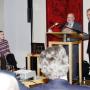 Torgespräch 2015, Prof. Leonard Barkan, Prof. Horst Bredekamp, Foto: Barbara Herrenkind