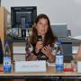 Symposium: Regard Croisés, Dr. Steffen Haug, Dr. Muriel van Vliet, Dr. Audrey Rieber, Foto: Barbara Herrenkind