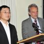 Arnheim Lecture: Prof. Dr. Wei Hu, Prof. Dr. Horst Bredekamp, Foto: Aila Schultz