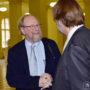 Symposium: Il Catalogo Universale, Dr.h.c. Wolfgang Thierse, Prof. Dr. Arnold Nesselrath, Foto: Barbara Herrenkind