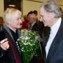 Feierliche Verabschiedung, Prof. Dr. Ruth Tesmar, Prof Dr. Martin Warnke, Foto: Barbara Herrenkind