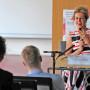 Symposium: Regard Croisés, Prof. Dr. Barbara Vinken, Foto: Aila Schultz