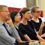 Symposium: Regard Croisés, Prof. Dr. Johannes Grave, Dr. Audrey Rieber, Ann-Cathrin Drews M.A., Prof. Dr. Claudia Blümle, Foto: Aila Schultz