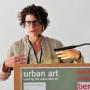 Urban Art Tagung Berlin, Elisabeth Friedman, Foto: Aila Schultz