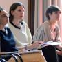 Tagung: New Territories, Dr. Olga Smith, Stefanie Gerke MA, Dortje Fink, Foto: Aila Schultz