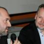 Humboldt Meetings III, Artur Żmijewski und Prof. Piotr Piotrowski, Foto: Andreas Baudisch