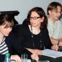 Meta Image Day 2012, Kathleen Waak und Prof. Claudia Rückert, Foto: Barbara Herrenkind