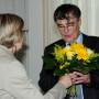 Festveranstaltung, 65. Geburtstag Prof. Dr. Ulrich Reinisch, Prof. Ada Raev und Prof. Ulrich Reinisch, Foto: Andreas Baudisch