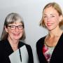 Symposion: Asymmetrische Kunstgeschichte, Prof. Michaela Marek, Prof. Charlotte Klonk, Foto: Barbara Herrenkind