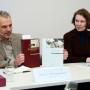 Pressekonferenz Galileo's O III, Prof. Horst Bredekamp und Prof. Irene Brückle, Foto: Barbara Herrenkind