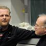Humboldt Meetings VI, Thomas Ostermeier und Prof. Régis Michel, Foto: Andreas Baudisch