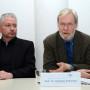 Pressekonferenz Galileo's O III, Dr. Oliver Hahn und Prof. Dr. Nicholas Pickwoad, Foto: Barbara Herrenkind