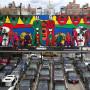 """""""Waking"""", Gilbert and George, New York City 2013, Foto: Barbara Herrenkind"""