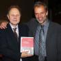 """Buchpräsentation """"In der Mitte Berlins"""", Prof. Adam Labuda und Prof. Horst Bredekamp, Foto: Barbara Herrenkind"""