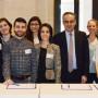 Forum Kunstgeschichte Italiens,Botschaft der Italienischen Republik, Organisationsteam, Foto: Barbara Herrenkind
