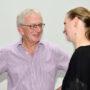 Ringvorlesung Kunst und Bildgeschichte, Peter Bexte und Claudia Blümle, Foto Aila Schultz