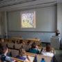 Vortrag Anke te Heesen, Foto: Merlin Noack
