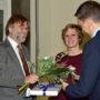 Abschiedsvorlesung Arnold Nesselrath, Birte Rubach, Timo Strauch, Foto Barbara Herrenkind